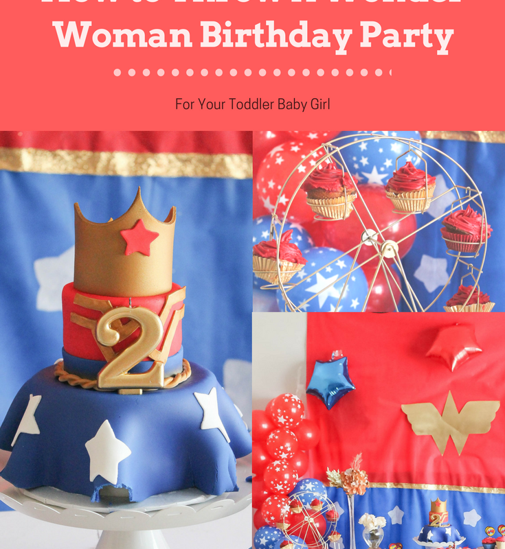 Classy Wonder Woman Party Parties With A Cause