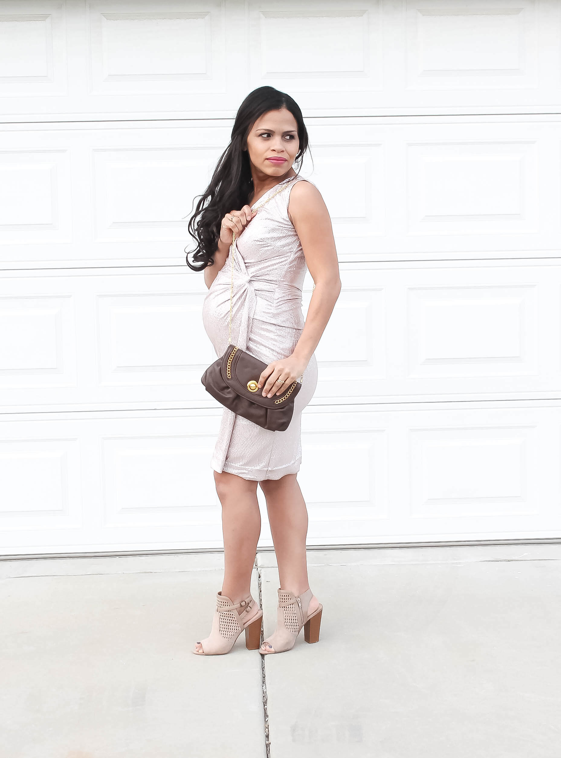 A non maternity dress that is perfect for your baby bump