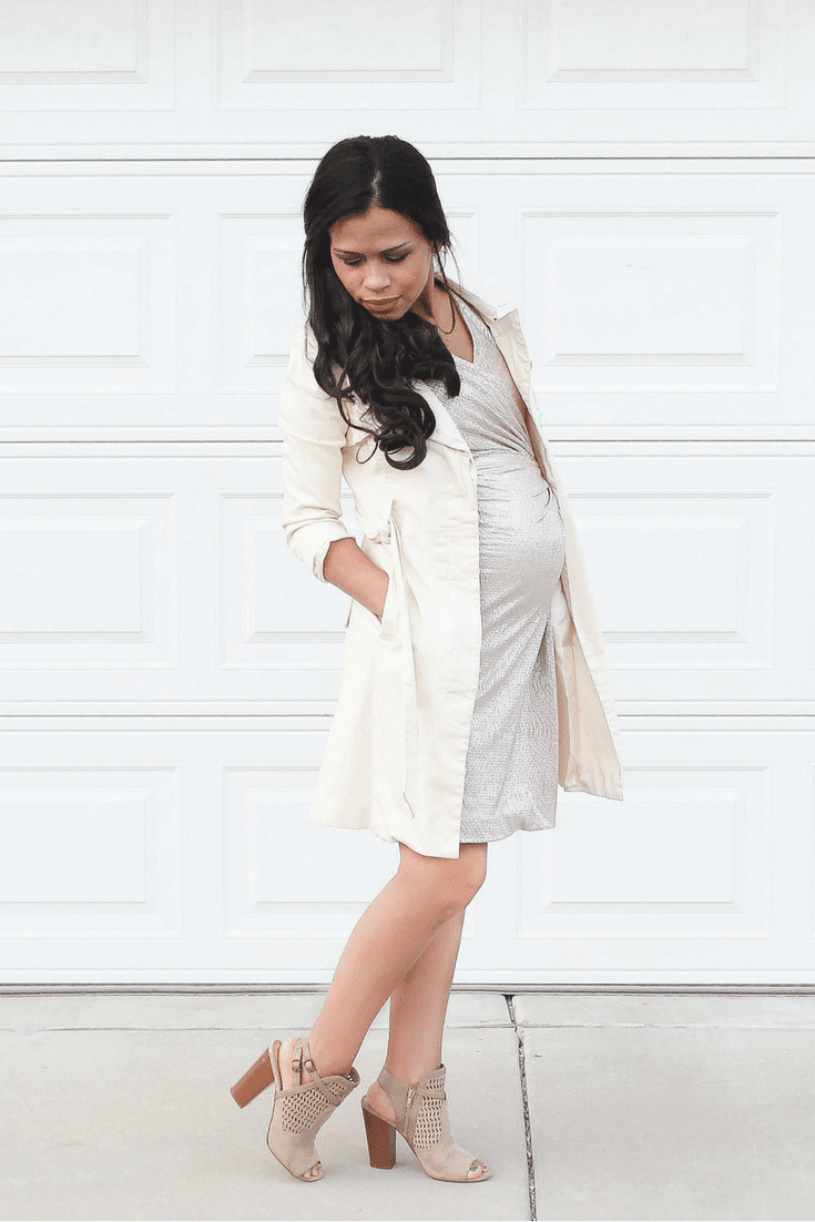 non maternity dress that is perfect for your baby bump