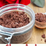 DIY Homemade Chocolate Sugar Scrub