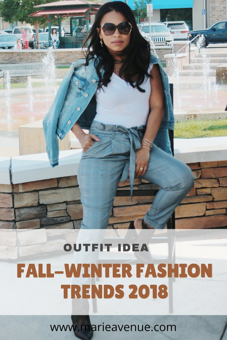 Fall/Winter 2018 Trends – Outfit Idea