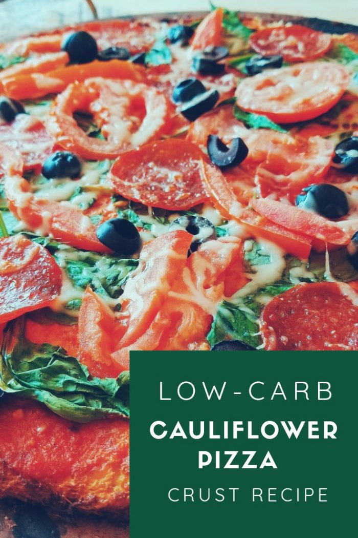 Low-Cab Cauliflower Pizza Crust