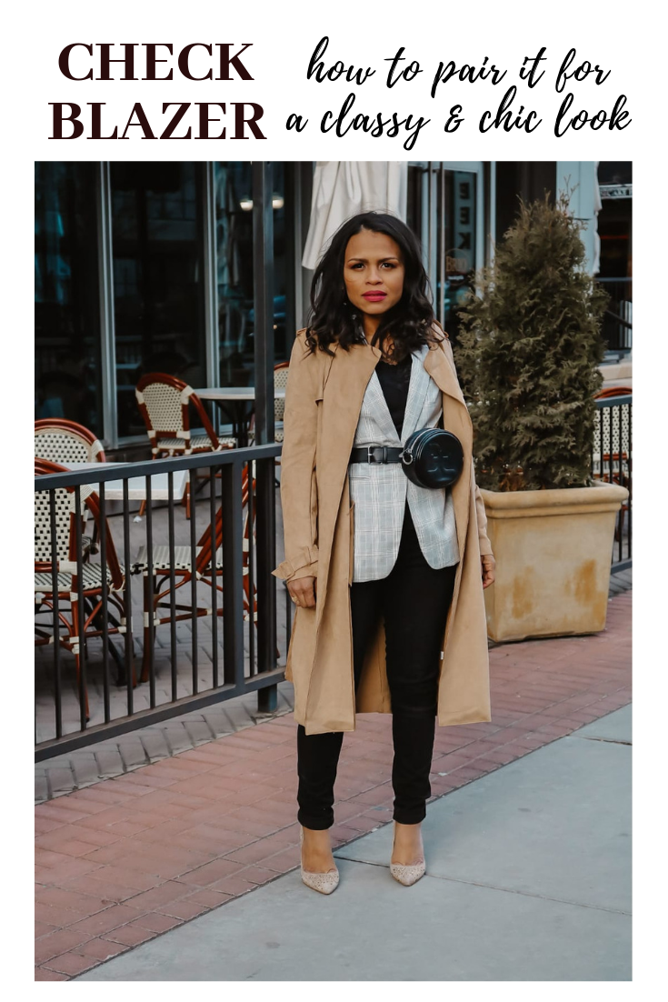 Check Blazer – How to Style it  For a Classy Look