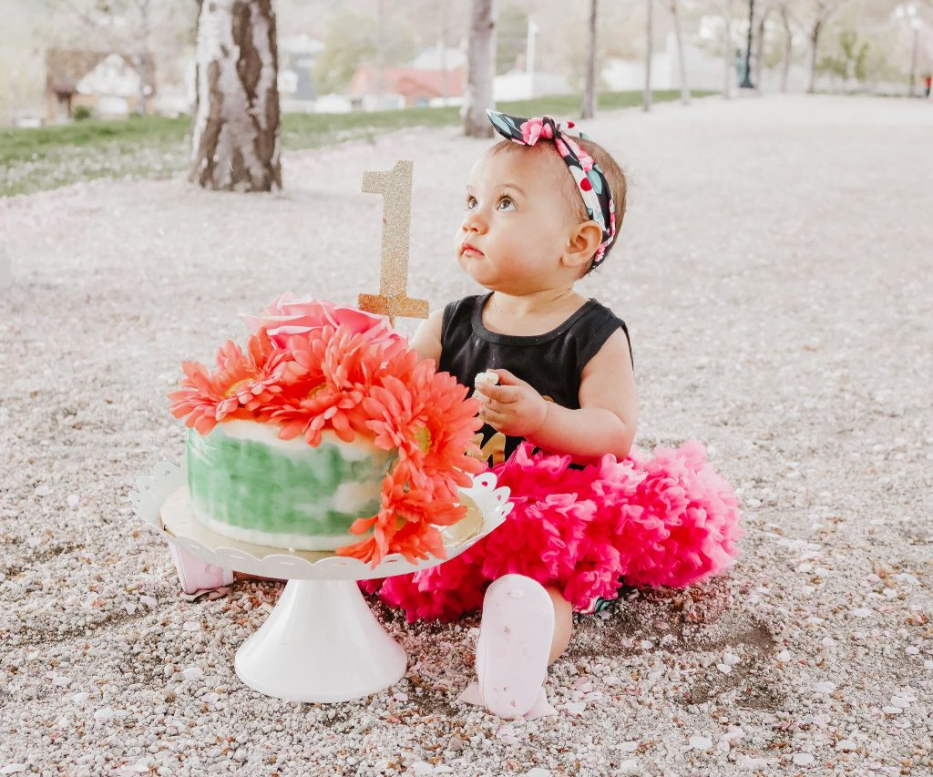 Smash Cake Photo Shoot