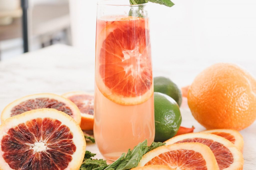 Blood Orange Mocktail Drink Recipe