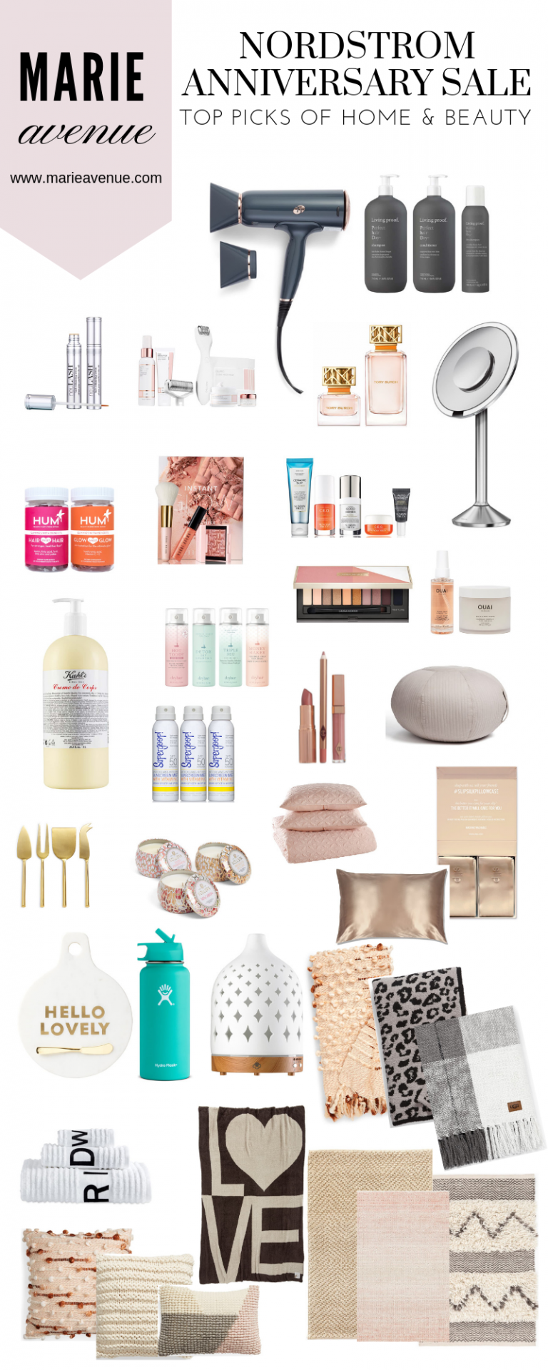 NORDSTROM ANNIVERSARY SALE // HOME & BEAUTY