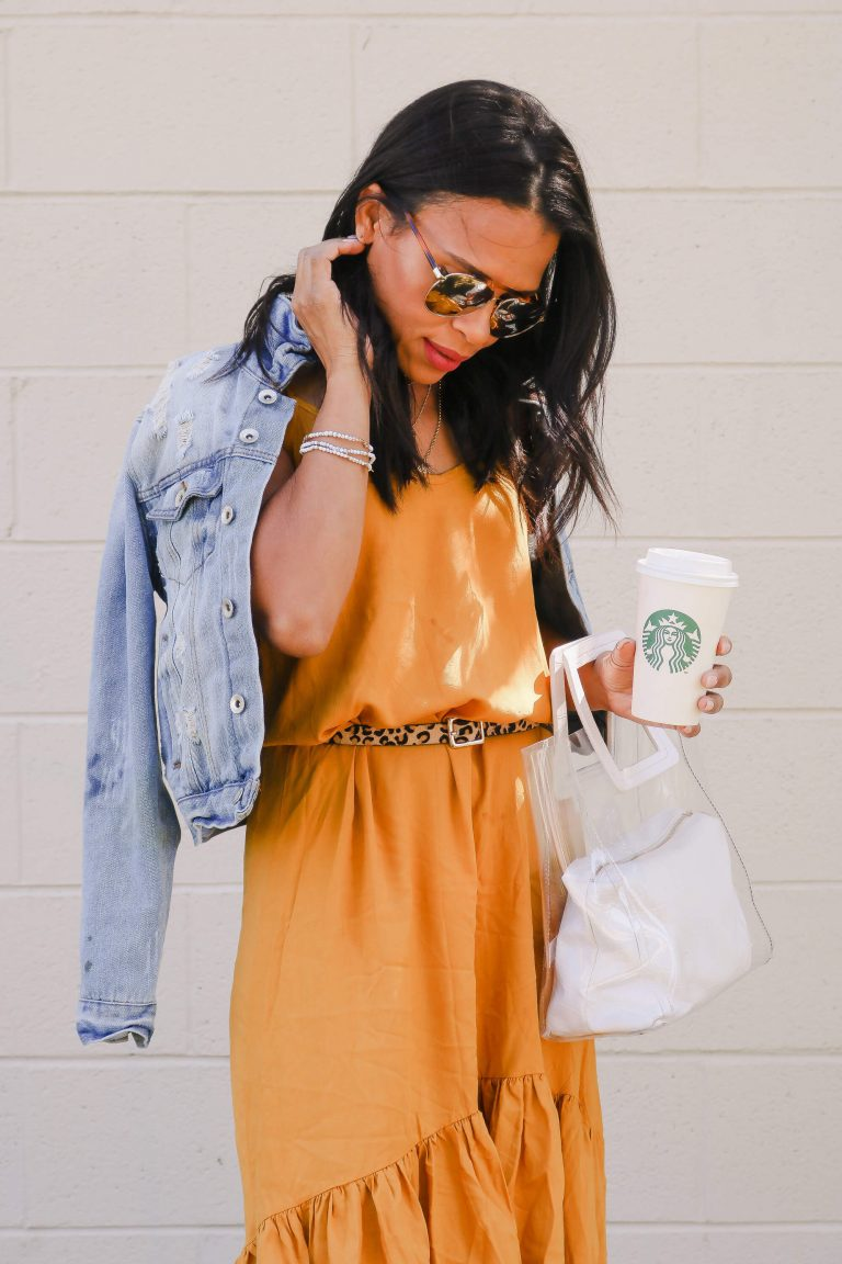 Transitional Outfit – Summer To Fall Dress