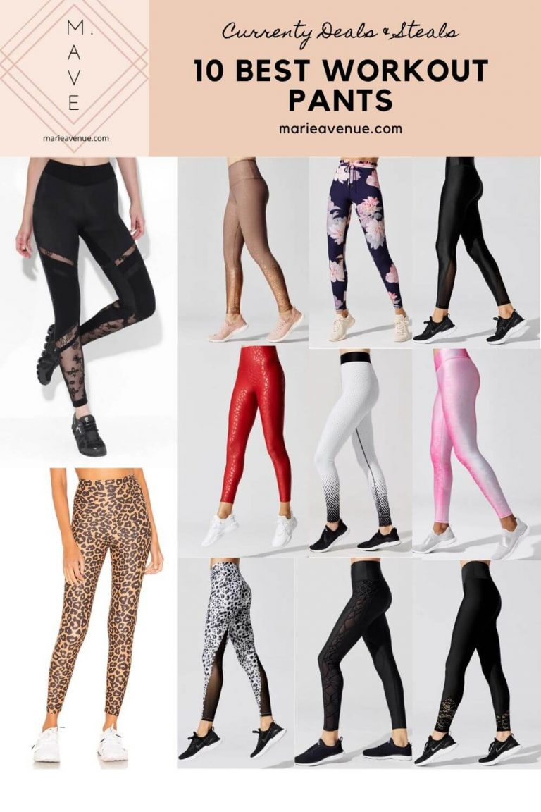 The Best And Cutest Workout Leggings On Sale