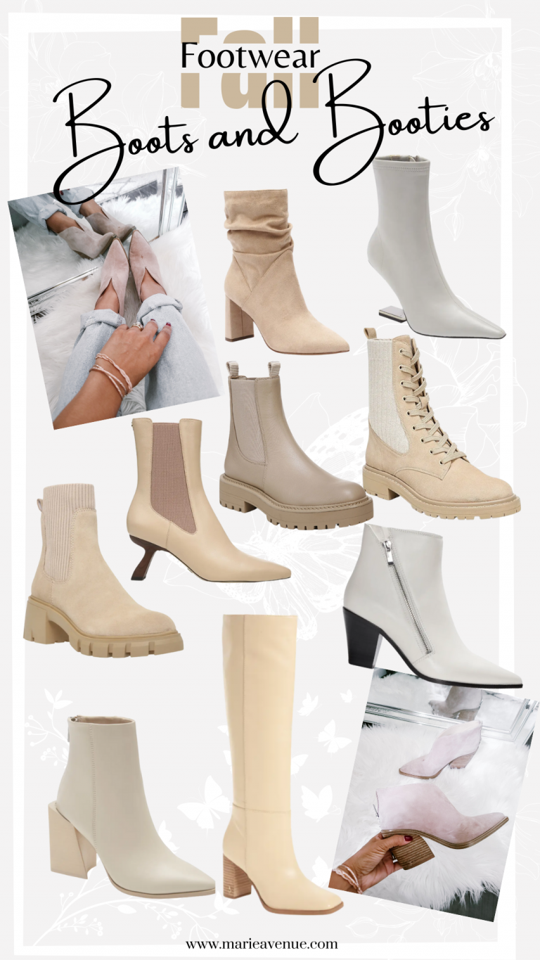 The Fall Boots & Booties I'm Loving This Year